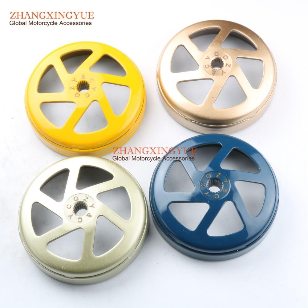 4 couleur Cloche D'embrayage pour GY6 125cc 150cc 152QMI 157QMJ