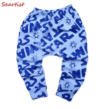#35# 2016 New Fashion Baby Boys Girls Cute Star Wars Harem Pants Leggings Infant Autumn Spring Cotton