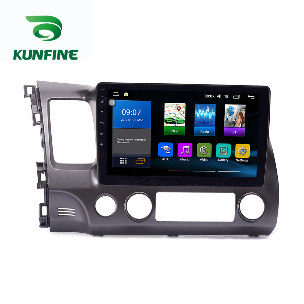 Octa Core 1024*600 Android 8.1 Auto DVD GPS Navigation-Player Deckless Auto <font><b>Stereo</b></font> für <font><b>Honda</b></font> <font><b>Civic</b></font> 2004-2011 radio Steuergerät Wifi image