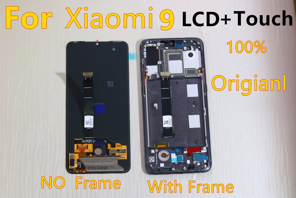 6.39'' AMOLED Original LCD For <font><b>xiaomi</b></font> Mi 9 <font><b>Mi9</b></font> <font><b>Display</b></font> <font><b>xiaomi</b></font> 9 LCD <font><b>Display</b></font> Touch ScreenDigitizer Assembly +tools image