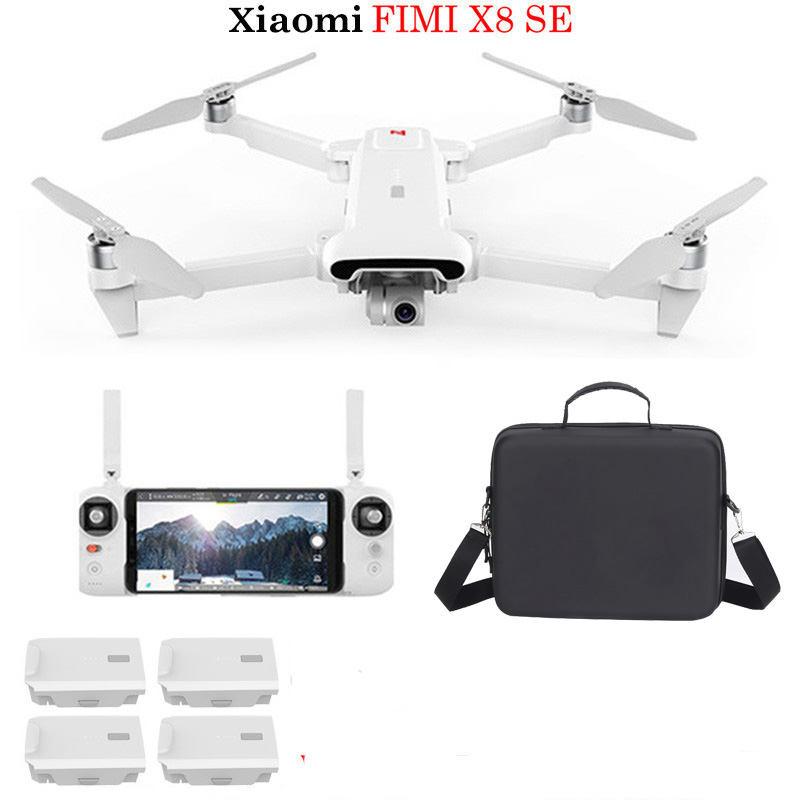 Xiaomi FIMI X8 SE 5KM FPV With 3-axis Gimbal 4K Camera GPS 33mins Flight Time RC Quadcopter RTF Professional Drone Toys(China)