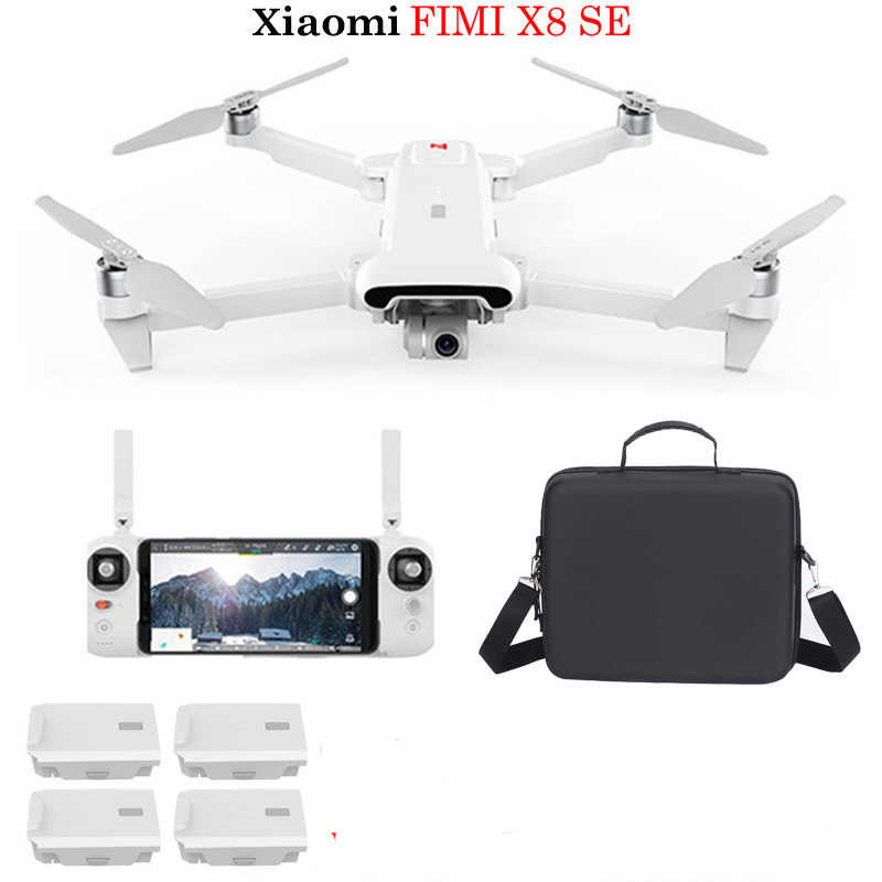 Xiaomi FIMI X8 SE 5KM FPV With 3-axis Gimbal 4K Camera GPS 33mins Flight Time RC Quadcopter RTF Professional Drone toys