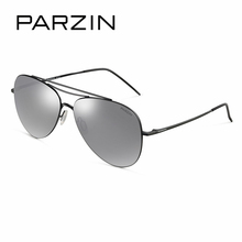 PARZIN Metal Frame Polarized Aviator Sunglasses For Women High Quality Coating Mirror Anti-UV400 Sunglasses For Driver Eyewear