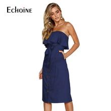 Sexy women Bandage Cotton Linen Dress Summer Fashion Off Shoulder Wrap for party Vintage Casual long dresses vestidos