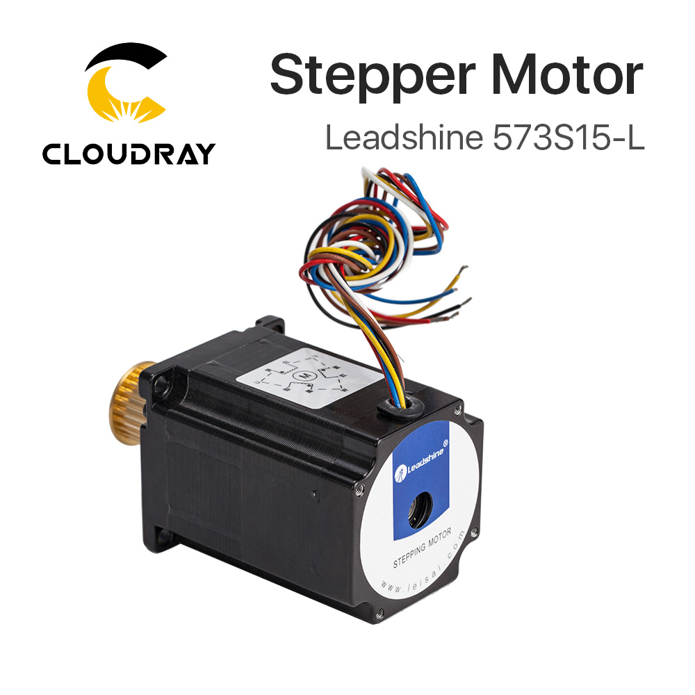 Cloudray Leadshine 3 phase Stepper Motor 573S15 573S15 L for NEMA23 5 8A length 76mm Shaft