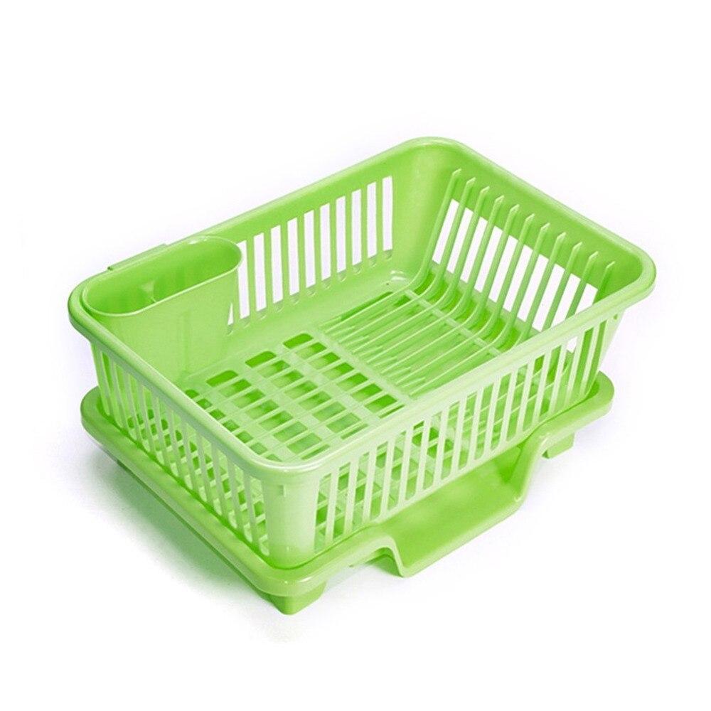 Charmant Plastic Washing Holder Basket Rack Storage Kitchen Wash Dry Shelf Cutlery Drainer  Sink Dish Bowl Rack Organizer Kitchen Gadget In Storage Baskets From Home  ...