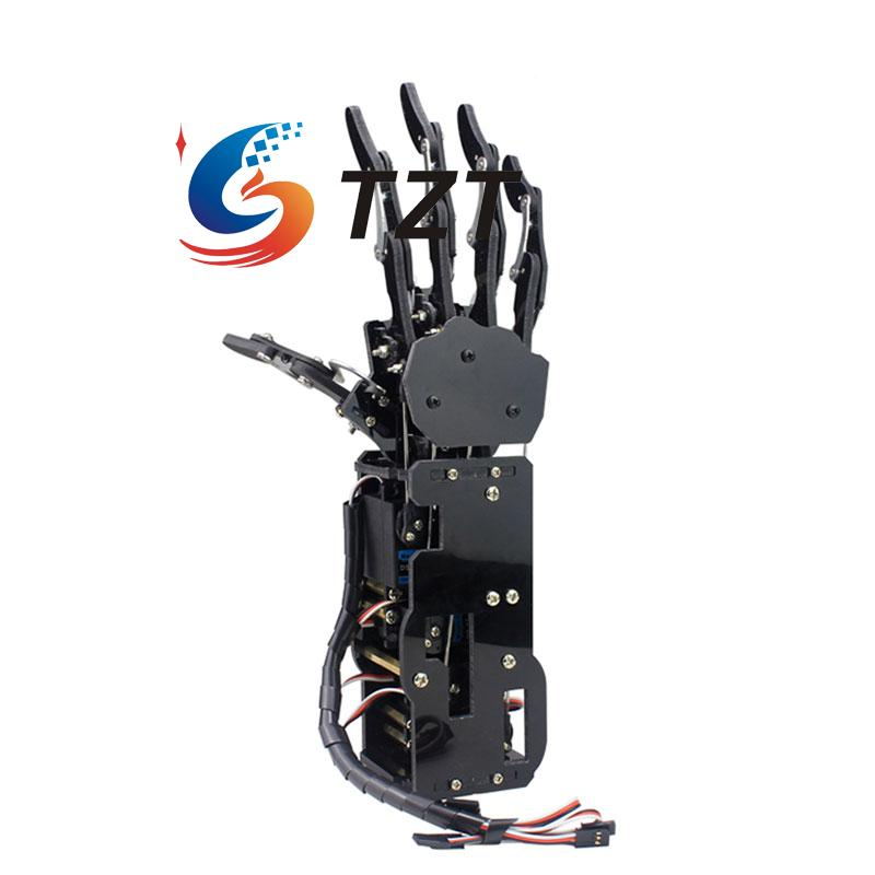 Robot Mechanical Arm Claw Humanoid Right Hand Five Fingers