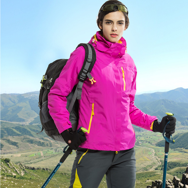 Sports & Entertainment The Cheapest Price The Arctic Light Warm Winter Outdoor Rain Jacket Women Windproof Waterproof Mountaineering Climbing Camping Hiking Coat