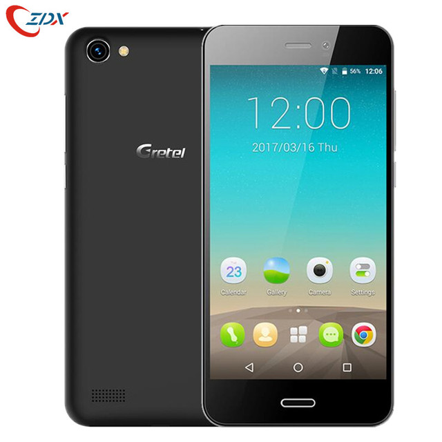 Gretel A7 4.7'' Quad Core Mobile Phone Android 6.0 MTK6580 1.3GHz 1GB RAM+16GB ROM 8.0MP Smartphone 720*1280 Dual SIM 3G Phone