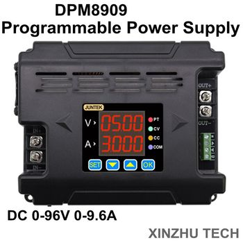 JUNTEK DPM8909 0-96V Digtal Programmable Power Supply Constant Voltage current DC- DC Power Supply buck Voltage converter