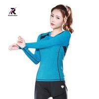 Yoga Shirts T shirt Running Shirt Bodybuilding Clothing Women Fitness Sports Quick Dry Tops Jogging Gym Workout Tees