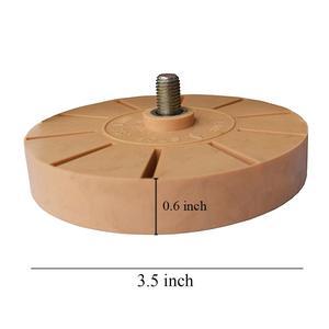 Image 5 - Cao Su Tẩy Bánh Xe Với Đầu Khoan Bộ Đính Kim Sa Keo Dính Đề Can Dán Sơn Xe Vệ Sinh Nhanh Chóng Công Cụ E24 + e19