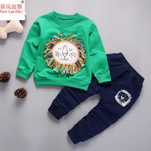 New Spring Autumn New Baby Boys Girls Sport Suit 2019 Children Boys Clothing Set Toddler Casual Kids Clothes Tracksuit Sets 1-5Y