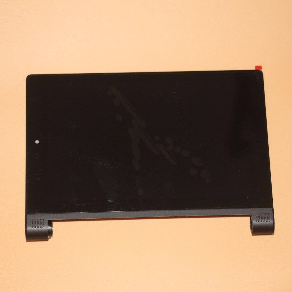 Для Lenovo YOGA Tablet 2 830 851 851F графический сенсорный экран Стекло ЖК-дисплей Дисплей в сборе с рамкой черный