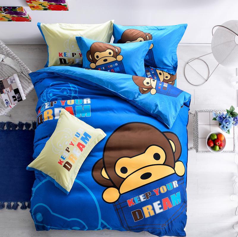 pcs ropa de cama de algodn owl kids niosnias juego de