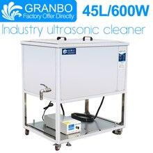 Granbo 45L Промышленный Ультразвуковой очиститель с CE/ROHS/FCC для различных запасных частей обезжиривание/дерузация/очистительное масло ржавчины углерода