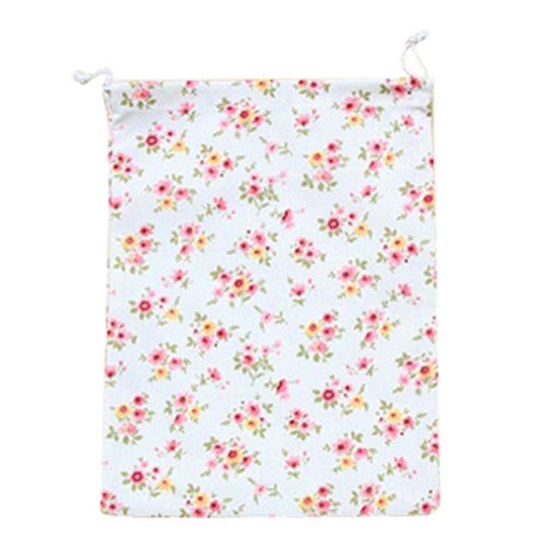 Home storage organization Underwear shoe bag toy organizer Fluid Systems pouch Item Accessories(Small Floral)L: 24*32.5cm