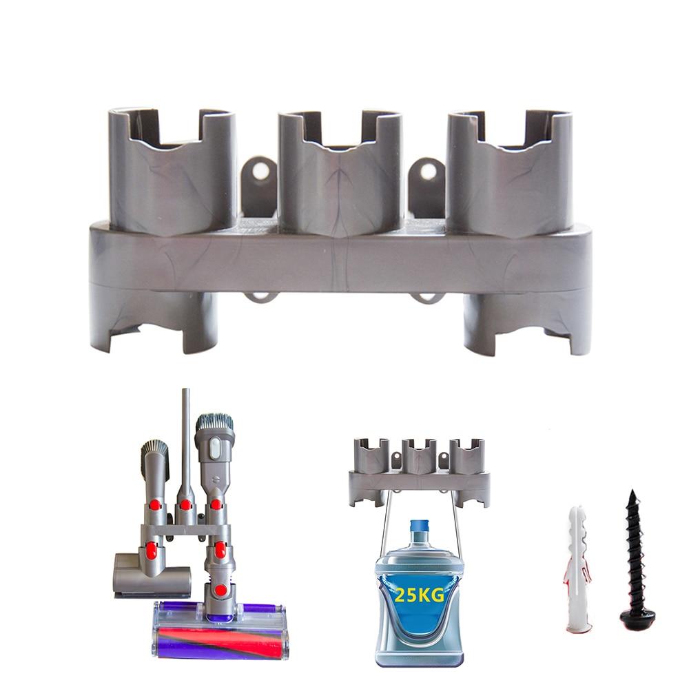 Storage Bracket for Dyson V8 V10 V7 Vacuum Cleaner Absolute Brush Stand Tool Nozzle Base Holder Docks Station Accessories Kit