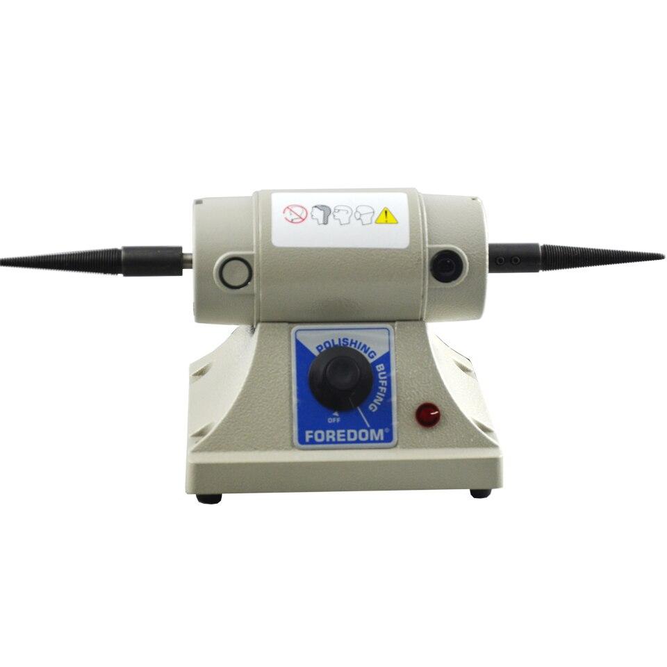 ФОТО Cheap Jewelry Polishing Machine Foredom Bench Lathe BL-2 Mini Polisher Jewelry Making Tool with 4
