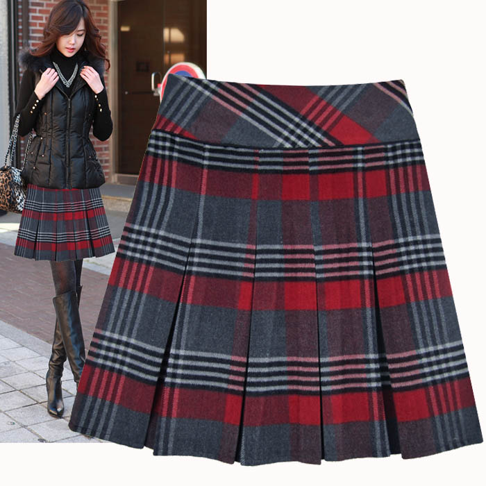 Women's plaid skirt – Modern skirts blog for you