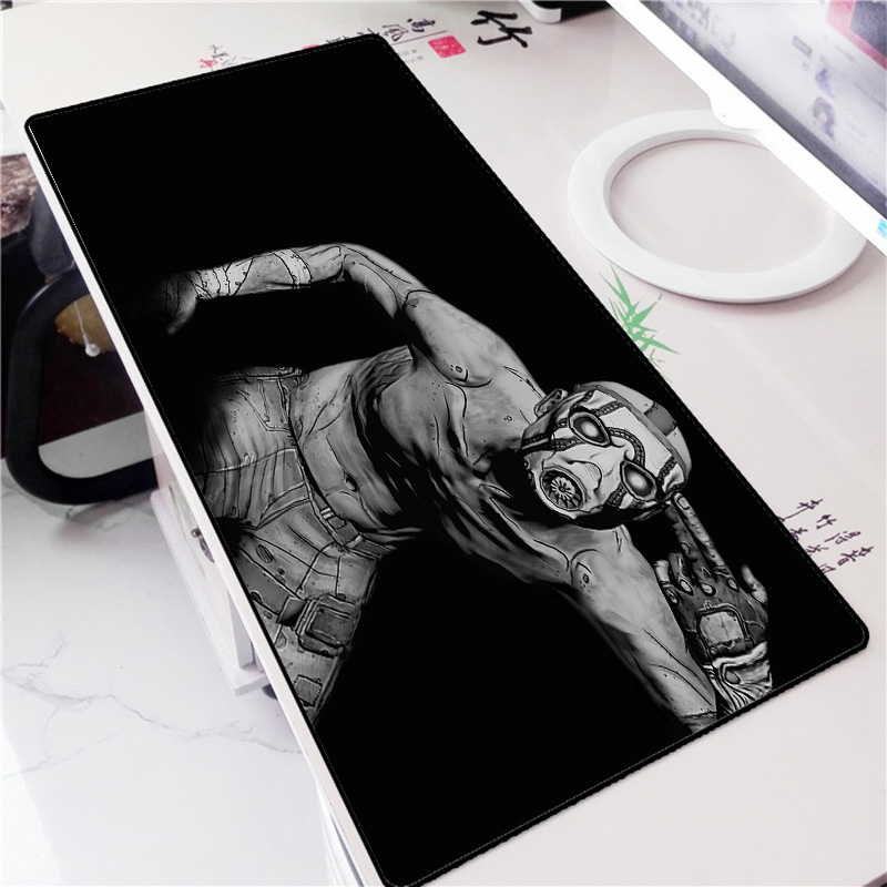 Mairuige The Video Game Borderlands 2 Game Mousepad FPS RPG Game Big Size Locked Edge Mouse Pad Mat for Decoration Your Desk