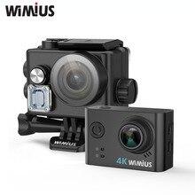 Wimius L2 Action Camera 4K FPV USB TV Out Mini Video Sports Helmet Cam Full HD 1080P 60fp Go Waterproof Pro Wide Angle Car DVR