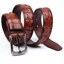 Stylish leather belt