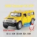 KINSMART Modelos de Fundición de Metales/1:40 Scale/2008 Hummer H2 SUV/juguetes para niños de regalos/para las colecciones