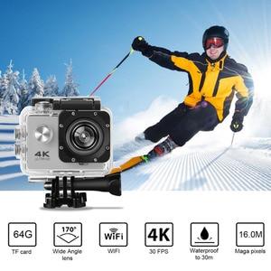SJ60 водонепроницаемый 2  lcd 4K Wifi HD 1080P Ультра Спортивная Экшн-камера для движения DVR камера видеокамера HDMI 32 Гб 170 градусов HD широкоугольный