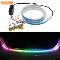 KAHANE Flowing Day Running Light Car Styling LED Turn Signal Light Strip DRL Car Tailgate Brake