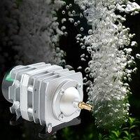 45L Min 25W Electromagnetic Air Compressor Aquarium Oxygen Pond Air Pump Aerator
