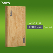 HOCO Practical Ultra-thin Power Bank Mobile Powerbank Universal Charger for Cellphone with Large Capacity 13000mAh