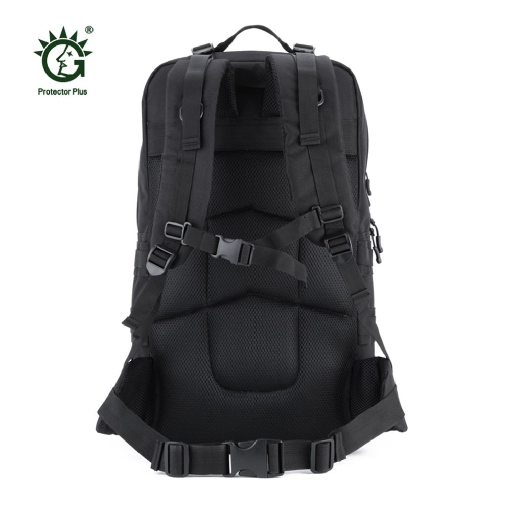 55L Nylon Outdoor Bag Military Tactical Bags Backpack Army Molle Waterproof Large Size Camping Hiking Bag Hunting Backpack New цена 2017