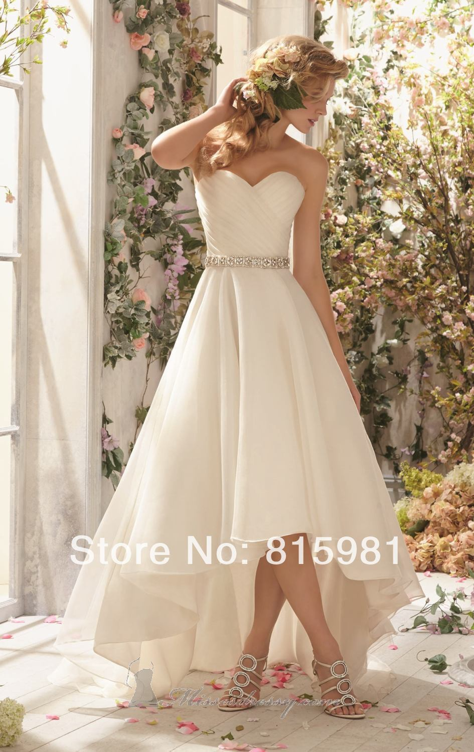 Y9 newivory strapless sweetheart wedding dress bridal gown Wedding dress xs