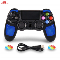 Controller Wireless Gamepad Double Shock4 Joystick For Sony Playstation 4 / PS4 Pro / PS4 Slim With 3.5mm Headset Plug