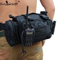 SINAIRSOFT Chất Lượng Cao Ngoài Trời Quân Tactical Backpack Eo Gói Eo Bag Mochilas Molle Cắm Trại Đi Bộ Đường Dài Pouch 3 P Ngực Bag