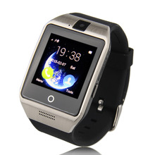 AProบลูทูธซิงค์NFC Pedometerการนอนหลับการตรวจสอบอยู่ประจำที่เตือนโทรศัพท์นาฬิกาสมาร์ทสนับสนุนซิมเข้ากันได้กับอุปกรณ์A Ndroid