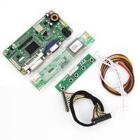 VGA DVI M R2261 M RT2281 LCD LED Controller Driver Board For LP154WX4 TLC1 B154EW08 1280x800