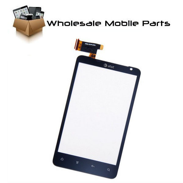 Touch screen digitizer for HTC Vivid 4G Raider Holiday G19 at&t Black free shipping