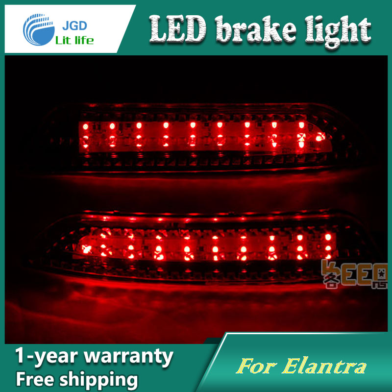 Car Styling Rear Bumper LED Brake Lights Warning Lights case For Hyundai Elantra 2008 2009 2010 Accessories Good Quality car styling rear bumper led brake lights warning lights case for mazda atenza accessories good quality