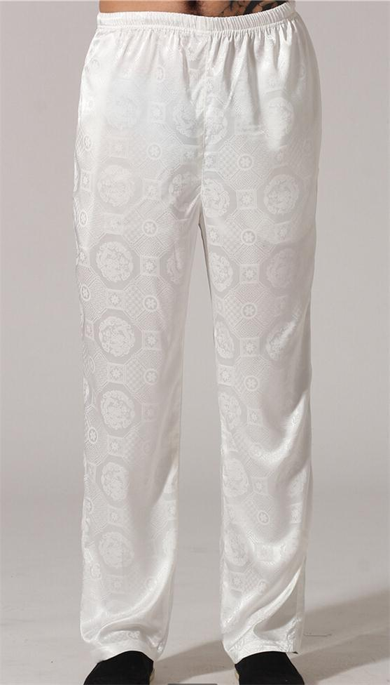 Popular Mens White Silk Pants-Buy Cheap Mens White Silk Pants lots ...