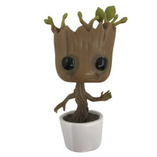 Kids Toys 10cm Tree Man Groot Action Figure Toy PVC Model Doll Toys For Children Gifts without box