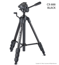 Free Shipping!!Velbon CX-888 black Camera photo Tripod w/Panhead & QB-4W &Case 1450mm Load:2kg