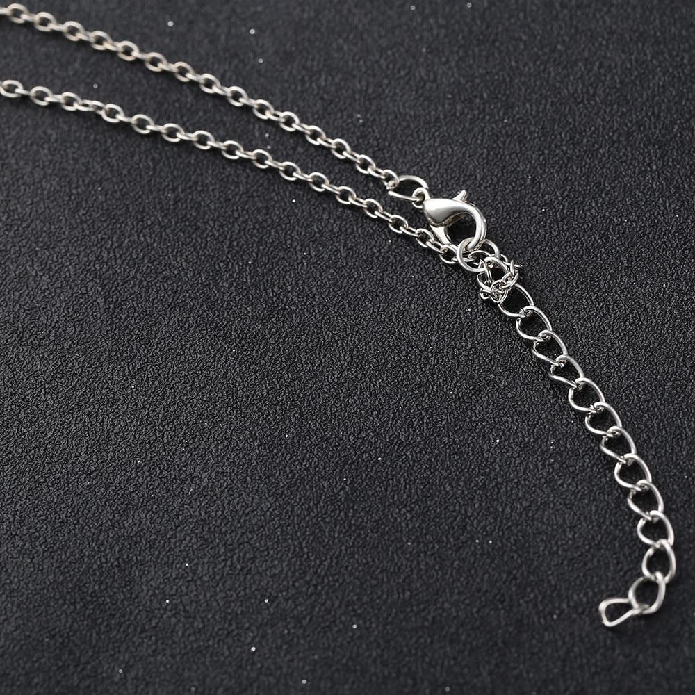 2018 New Fashion 7 Chakra Beads Pendant Chain Necklace Yoga Reiki Healing Balancing For Wo Accessory Jewelry