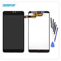 Black For Nokia Microsoft Lumia 640xl 640 XL LCD Display Touch Screen Digitizer Monitor Assembly Replacements