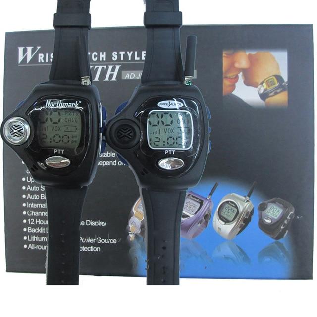 1 Pair Wrist Watch Digital Wrist Watch Freetalker RD 820 Walkie Talkie Ham Radio Interphone 2 Way Radio With VOX Operation