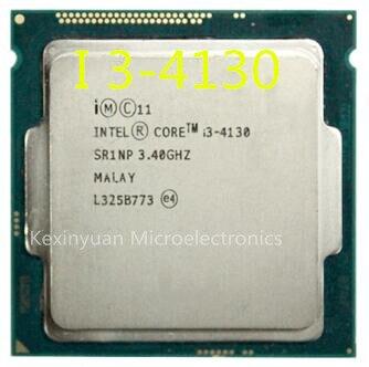 PC Computer Intel Core Processor I3 4130 I3-4130 CPU LGA1150 22 Nanometers Dual-Core 100% Working Properly Desktop Processor