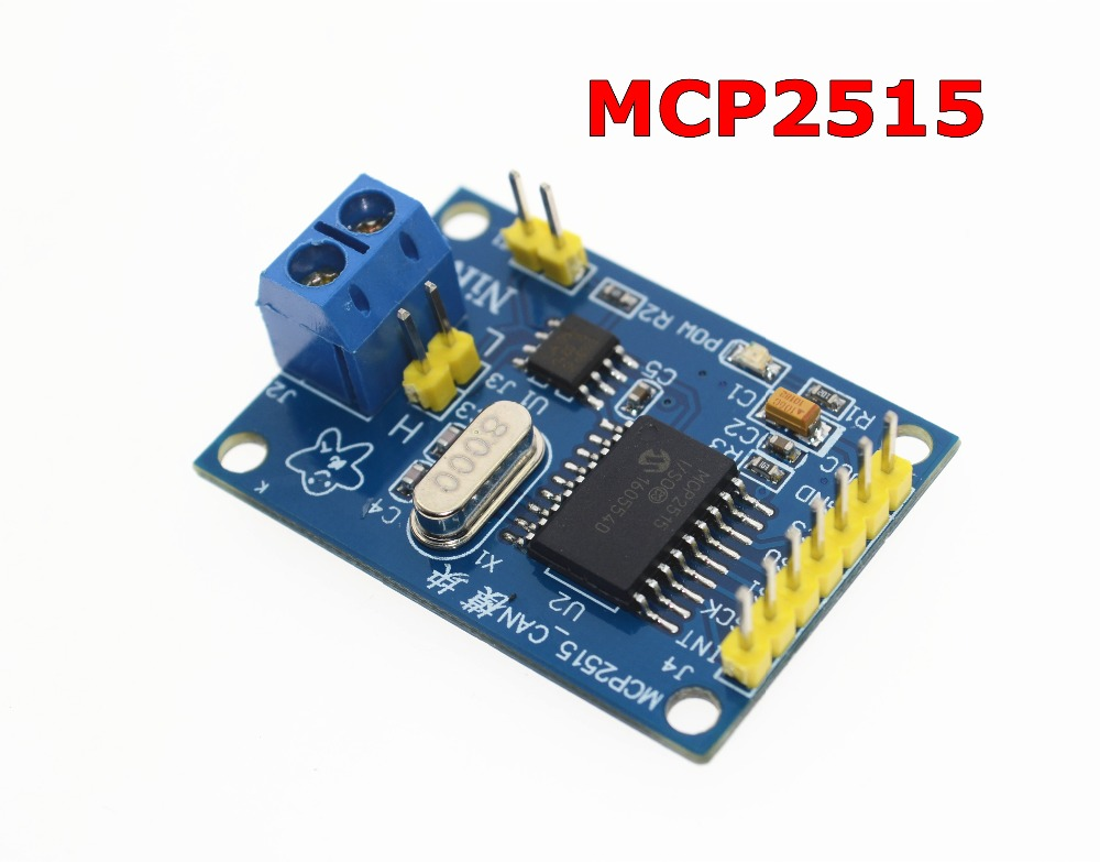 MCP2515 CAN Bus Module Board TJA1050 Receiver SPI For 51 MCU ARM Controller NEW image