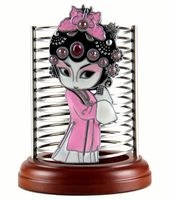 Hot Sale Chinese Peking Opera Mask Features Crafts Desktop Storage Box Home Decortion Business Gifts