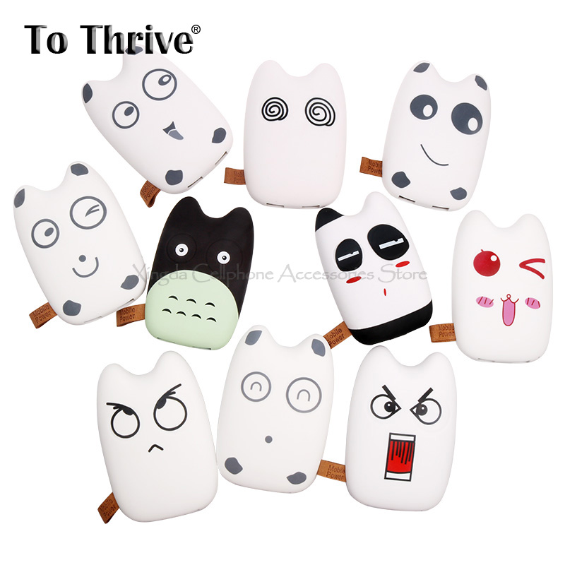 Totoro Expression 3600mAh Power Bank External Battery <font><b>Fast</b></font> Mobie <font><b>Charger</b></font> for Cellphone